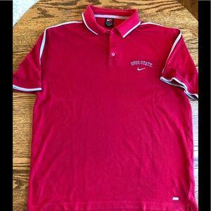 Nike Ohio state polo shirt size xxl